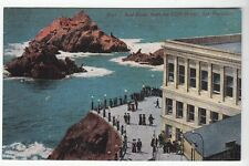 [52347] Old Postcard Seal Rocks From The Cliff House, San Francisco, California