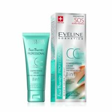 EVELINE 8in1 CC colour corrector soothing moisturizing COMPREHENSIVE FACE CREAM
