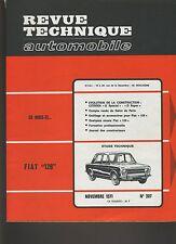 (30B) REVUE TECHNIQUE AUTOMOBILE FIAT 128 / CITROEN D Spécial et Super