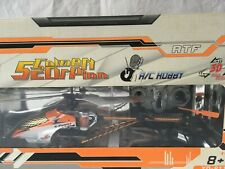 ATTOP TOYS RC Helikopter Golden Scorpion Gyro Helicopter Hubschrauber. NEU!