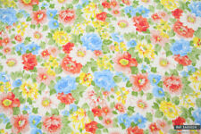 """Yellow Floral High Quality 100% cotton fabric sold by meter 63""""width [1605024]"""