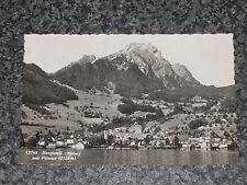 HERGISWIL MIT PILATUS SWITZERLAND   PHOTO POSTCARD VINTAGE  POSTED 1959  VGC