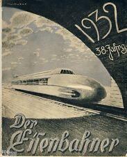 Der Eisenbahner Kalender für das Jahr 1932 Eisenbahn