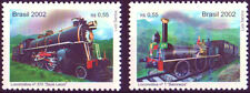 locomotive Brazil  # Trains #  Stamp set MNH