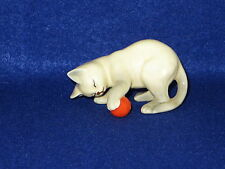 """Playtime"" Danbury Mint Cats Of Character Bone China Figurine - Mint"