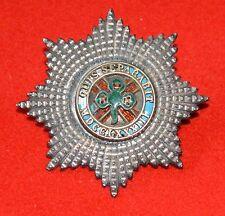 British Army. 4th Royal Irish Dragoon Guards Rare Officer's Victorian Cap Badge