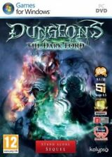 Dungeons The Dark Lord for PC Dvd-rom by Kalypso 2011