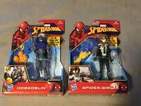 2x Spider-Man Action-Figur: Hobgoblin & Spider-Girl - Hasbro Marvel Spiderman