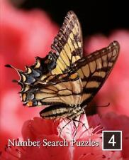 Number Search Puzzles Ser.: Number Search Puzzles 4 : 100 Elegant Puzzles in...
