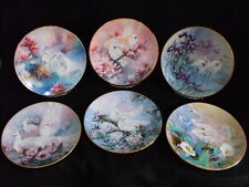 Lena Liu Pastel Colors On Wings of Snow W S George China Collectors Complete Set