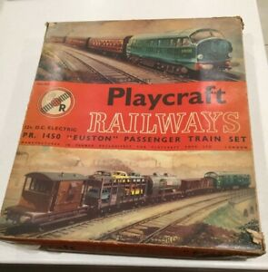 Playcraft PR 1450 Euston passenger train set vintage