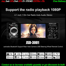 "4""1 Din Autorradio Pantalla táctil FM MP5 player Enlace espejo Bluetooth Estéreo"