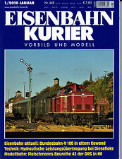 Eisenbahn Kurier Vorbild und Modell  Nr. 448 Januar 1 / 2010