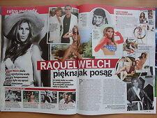 RAQUEL WELCH in Polish Magazine KROPKA TV 30/2015 AC/DC,Johnny Depp,Magic Mike