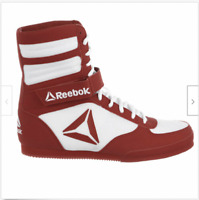 Mens Reebok Boxing Boot, White/Excellent Red, CN4739 Size 12