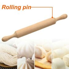Dough Roller Non Stick Wooden Handle Rolling Pin Cookies Pizza Baking Tools 1PC