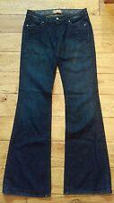 Paige Premium Denim Laurel Canyon Size 27 Inseam 34 Low Rise Boot Cut Jeans