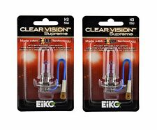 Eiko ClearVision Supreme H3 55W Fog Light Two Bulbs Replacement Lamp Upgrade OE