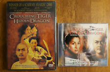 Crouching Tiger Hidden Dragon & Soundtrack Cd - The Replacement Killers Dvd