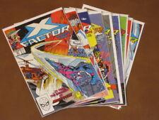X-FACTOR #51 - 59 FNVF COMPLETE SET X-MEN ANGEL SABRETOOTH 1ST PETER DAVID BEAST