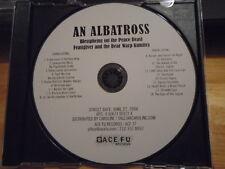 RARE ADVANCE PROMO An Albatross CD Blessphemy ZYKLON-B Respect Sextet punk grind