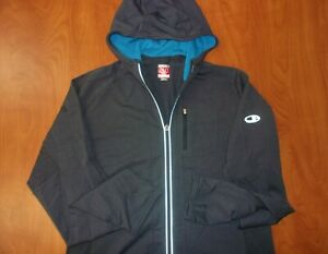Icebreaker GT 260 Midweight Quantum Hoodie Jacket New Zealand Merino Wool Mens L