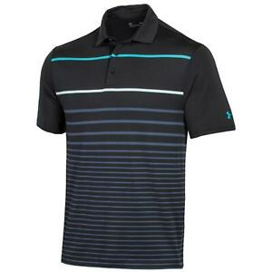 NEW Under Armour SP Playoff 2.0 Men's Golf Polo Precision Black Size Large S537