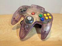 Original OEM Nintendo 64 N64 Atomic Purple Controller! Ships Free