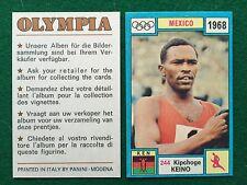 OLYMPIA 1972 n.244 Kipchoge KEINO KENYA ATLETICA , Figurina Sticker Panini (NEW)