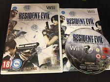 NINTENDO Wii : resident evil the darkside chronicles