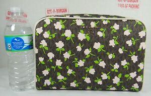 Michael Kors Jet Set Charm Large Signature Florals Cosmetic Case,Travel Pouch