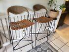 Set of 2 Arthur Umanoff 30 inch bar stools mcm mid century modern