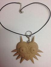 Zelda Majoras Mask Wood / PLA Necklace & Key chain
