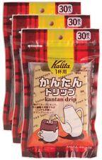 Kalita Kantan Coffee Dorip single-cup single-use drippers 30p x 3bags From Japan