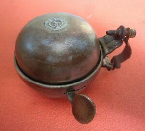 Vintage Joseph Lucas Brass  bicycle bell Model No 34 LA43R65