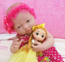 DEAL Reborn Baby Girl Doll 15' Handmade Real Lifelike baby Vinyl Silicone Alive