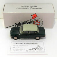 Pathfinder Models 1/43 Scale PFM27 - 1963 Triumph 2000 MK.1 1 Of 600 Green