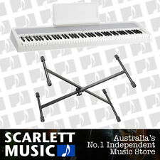 Korg B1 88 Note Digital Piano White w/ X-Braced Stand + 3 Years Warranty **NEW**