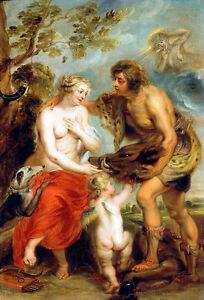Meleager and Atalanta by Peter Paul Rubens Art Print