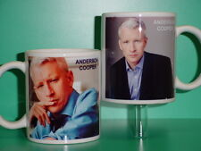 ANDERSON COOPER - with 2 Photos - Designer Collectible GIFT Mug 01