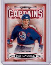 DALE HAWERCHUK 06/07 Parkhurst CAPTAINS Insert Card #202 Winnipeg Jets /3999