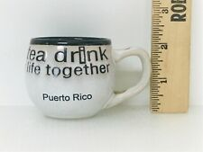 Coffee Tea Cup Ceramic Mug Puerto Rico