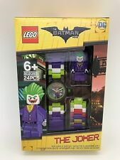 LEGO The Batman Movie The Joker With Mini-Figure Link Kids Watch 8020851 New