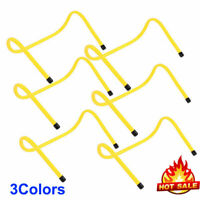 "6"" Adjustable Hurdles Training Speed Agility Sport Soccer Football (Qty 6)"