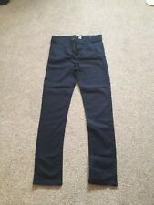 Boys Navy Chinos Age 13