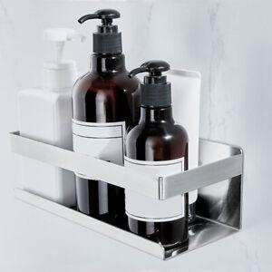 Self Adhesive Shower Shelf - Bathroom Shelf Stick on Wall Shower Caddy Holder
