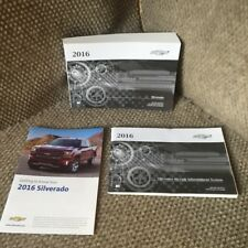 2016 Chevrolet Silverado 1500 2500 3500 Owners Manual w/ MyLink System bk + more