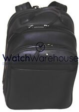 Montblanc Extreme Rucksack Black Leather City Bag 113856  New in Box