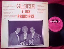 GLORIA Y LOS PRINCIPES - Orig RARE ARGENTINA Magenta LP LATIN BEAT PSYCH FARFISA