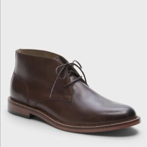 NEW Banana Republic Realey Leather Chukka Dress Boots/Shoes Brown, Men 9.5/10/11